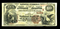 Victoria, TX - $10 1882 Brown Back Fr. 484 The First NB Ch. # (S)4184 This is an attractive Texas Brown Back with great...