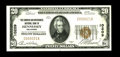 National Bank Notes:Oklahoma, Hennessey, OK - $20 1929 Ty. 1 The Farmers & Merchants NB Ch. # 10209. One of a small group of high grade examples known...