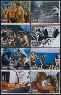"""Yor, the Hunter from the Future (Columbia, 1983). Lobby Card Set of 8 (11"""" X 14""""). Science Fiction. Starring R..."""