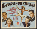 """Movie Posters:Drama, The People vs. Dr. Kildare (MGM, 1941). Title Lobby Card (11"""" X 14""""). Drama. Starring Lew Ayres, Lionel Barrymore, Laraine D..."""