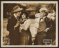 "Speedy Lovers (W. H. Productions, 1918). Lobby Card (8"" X 10""). Drama. Starring Bessie Barriscale, Arthur Maud..."