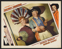 "Caught Cheating (Tiffany, 1931). Lobby Card (11"" X 14""). Comedy. Starring Charlie Murray and George Sidney. Di..."
