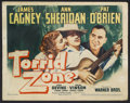 "Movie Posters:Adventure / Comedy, Torrid Zone (Warner Brothers, 1940). Title Lobby Card (11"" X 14""). Adventure/Comedy. Starring James Cagney, Ann Sheridan and..."