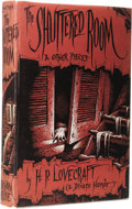 Books:First Editions, H.P. Lovecraft & Divers Hands: The Shuttered Room &Other Pieces. (Sauk City: Arkham House, 1959), first edition,313 pa...
