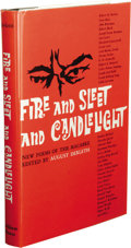 Books:First Editions, August Derleth (Editor): Fire and Sleet and Candlelight.(Sauk City: Arkham House, 1961), first edition, 236 pages, dust...