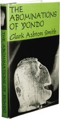 Books:First Editions, Clark Ashton Smith: The Abominations of Yondo. (Sauk City:Arkham House, 1960), first edition, 227 pages, dust jacket by...
