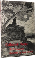 Books:First Editions, H. P. Lovecraft: Collected Poems. Illustrated by FrankUtpatel. (Sauk City: Arkham House, 1963), first edition, 134page...