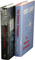 Books:Signed Editions, Robert J. Sawyer: Two First Editions, One Signed, including:. The Terminal Experiment. (Nashville, Tennessee: Soul W... (Total: 2 )