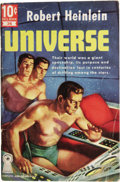 Books:First Editions, Robert Heinlein: Universe. (New York: Dell PublishingCompany, 1951), 64 pages, cover art by Robert Stanley, pictorials...