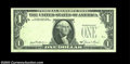 Error Notes:Third Printing on Reverse, Fr. 1911-C $1 1981 Federal Reserve Note, Crisp Uncirculated.