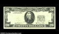 Error Notes:Third Printing on Reverse, Fr. 2073-L $20 1981 Federal Reserve Note. Choice Crisp ...