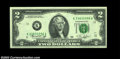 Error Notes:Doubled Third Printing, Fr. 1935-K $2 1976 Federal Reserve Note, Gem Crisp ...