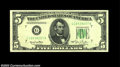 Error Notes:Skewed Reverse Printing, Fr. 1961-G $5 1950 Federal Reserve Note. Gem Crisp ...