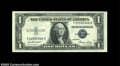 Error Notes:Foldovers, Fr. 1614 $1 1935E Silver Certificates, Crisp Uncirculated. ... (3notes)