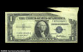 Error Notes:Foldovers, Fr. 1615 $1 1935F Silver Certificate, Very Fine. Large ...