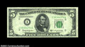 Error Notes:Foldovers, Fr. 1965-I $5 1950D Federal Reserve Note, Choice Crisp ...