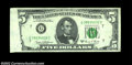 Error Notes:Foldovers, Fr. 1972-G $5 1969C Federal Reserve Note, Extremely Fine-...