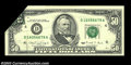Error Notes:Foldovers, Fr. 2124-D $50 1990 Federal Reserve Note. Choice Crisp ...