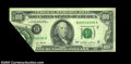 Error Notes:Foldovers, Fr. 2168-B $100 1977 Federal Reserve Note, Very Fine. ...