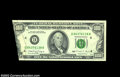Error Notes:Foldovers, Fr. 2174-D $100 1990 Federal Reserve Note, Choice About ...