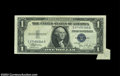 Error Notes:Attached Tabs, Fr. 1612 $1 1935C Silver Certificate, Choice Crisp ...