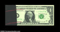 Error Notes:Ink Smears, Fr. 1905-L $1 1969B Federal Reserve Notes. About ... (4 notes)