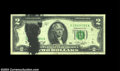 Error Notes:Ink Smears, Fr. 1935-E $2 1976 Federal Reserve Note, Very Fine. ...