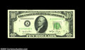 Error Notes:Ink Smears, Fr. 2010-A $10 1950 Federal Reserve Note, Choice About ...