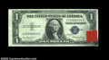 Error Notes:Inking Errors, Fr. 1614 $1 1935E Silver Certificate, Choice Crisp ...
