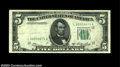 Error Notes:Obstruction Errors, Fr. 1962-L $5 1950A Federal Reserve Note, Extremely Fine-...