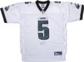 Football Collectibles:Others, Donovan McNabb Signed Jersey. For nearly the past decade Philadelphia Eagles quarterback Donovan McNabb has served a standa...