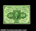 Fractional Currency:First Issue, Fr. 1242 10c First Issue Gem New. The colors are bright, ...