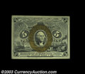 Fractional Currency:Second Issue, Fr. 1234 5c Second Issue Gem New. A really nice example of ...