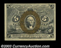 Fractional Currency:Second Issue, Fr. 1234 5c Second Issue Very Choice New. The colors are ...