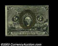 Fractional Currency:Second Issue, Fr. 1235 5c Second Issue Choice New. But for the right ...