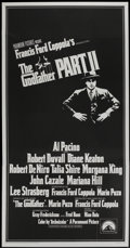 "Movie Posters:Academy Award Winner, The Godfather Part II (Paramount, 1974). Three Sheet (41"" X 79.5"").Academy Award Winner...."