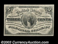 Fractional Currency:Third Issue, Fr. 1226 3c Third Issue Gem New. A pretty Three Cent note, ...