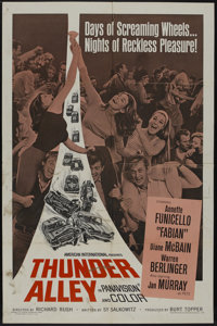 "Thunder Alley (American International, 1967). One Sheet (27"" X 41""). Action"