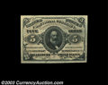 Fractional Currency:Third Issue, Fr. 1236 5c Third Issue Superb Gem New. Strict, original ...
