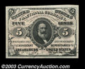 Fractional Currency:Third Issue, Fr. 1236 5c Third Issue Superb Gem New. An incredible ...