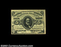 Fractional Currency:Third Issue, Fr. 1238 5c Third Issue Very Choice New. A bright, fresh ...