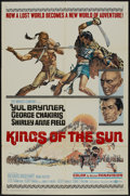 "Movie Posters:Adventure, Kings of the Sun (United Artists, 1963). One Sheet (27"" X 41"")Style A. Adventure...."
