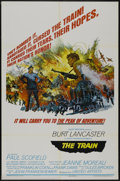"""Movie Posters:War, The Train (United Artists, 1965). One Sheet (27"""" X 41"""") Style B.War...."""