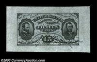 Fr. 1272SP 15c Third Issue Wide Margin Pair Gem New. A magnificent, well matched pair from the Gengerke Collection. The...