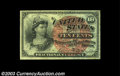 Fractional Currency:Fourth Issue, Fr. 1261 10c Fourth Issue Gem New. Heavily fibered and ...