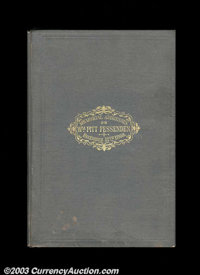 Memorial Addressed for William Pitt Fessenden. This government-printing-office memorial book was published in 1870. It i...