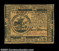 Colonial Notes:Continental Congress Issues, Continental Currency May 10, 1775 $5 Extremely Fine. Bold ...