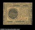 Colonial Notes:Continental Congress Issues, Continental Currency May 10, 1775 $7 Gem New. A very nice ...