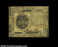 Colonial Notes:Continental Congress Issues, Continental Currency May 10, 1775 $7 Extremely Fine. A ...