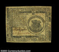 Colonial Notes:Continental Congress Issues, Continental Currency November 29, 1775 $1 Extremely Fine. ...